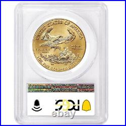 2021 $50 Type 1 American Gold Eagle 1 oz. PCGS MS70 Blue Label