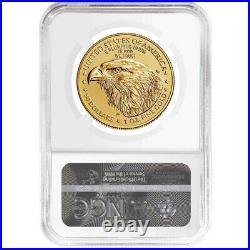 2021 $50 Type 2 American Gold Eagle 1 oz NGC MS70 FDI Trump Label