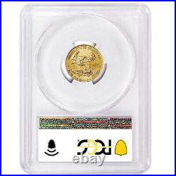 2021 $5 Type 1 American Gold Eagle 1/10 oz. PCGS MS70 Blue Label