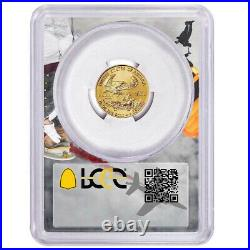 2021 $5 Type 1 American Gold Eagle 1/10 oz PCGS MS70 FS West Point Frame
