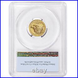 2021 $5 Type 2 American Gold Eagle 1/10 oz. PCGS MS69 FS Flag Label
