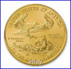 2021 American 1 oz Gold Eagle BU $50 US Gold Bar