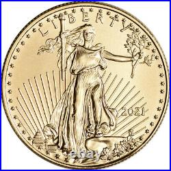 2021 American Gold Eagle 1/2 oz $25 PCGS MS70 First Strike