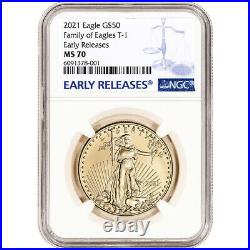 2021 American Gold Eagle 1 oz $50 NGC MS70 Early Releases
