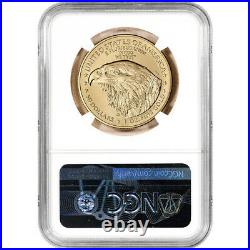 2021 American Gold Eagle Type 2 1 oz $50 NGC MS70 First Day Issue 1st Label