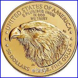 2021 TYPE 2 American Gold Eagle 1 oz $50 BU PRESALE
