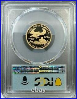 2021-W $10 1/4oz Proof American Gold Eagle Type 1 PCGS PR70 DCAM FDOI First Day