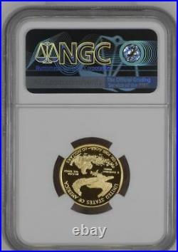 2021 W Proof 1/4 oz. $10 Gold Eagle NGC PF70 ER