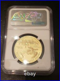 2021-W Proof $50 American Gold Eagle 1 oz. NGC PF70 UC One Ounce IN HAND