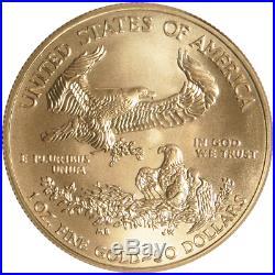 $50 American Gold Eagle 1 oz Random Year Brilliant Uncirculated