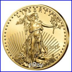 American Eagle 1/10 oz Gold 2019 USA