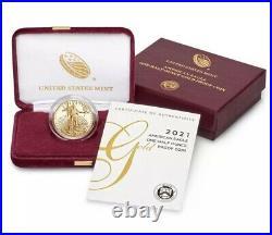 American Eagle 2021 One-Half Ounce Gold Proof Coin 1/2 oz 21ECREADY TO SHIP