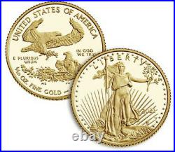 American Eagle 2021 One-Tenth Ounce Gold Two-Coin Set Designer Edition 21XK 1/10