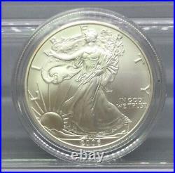 American Eagle 20th Anniversary Gold & Silver Coin Set With Box & CoA