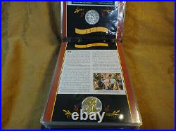 American Silver Eagle Lot Of 23 Postal Commemorative Society Gold Highlights
