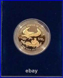 COINS US 1986 W American Eagle $50 Gold Coin. US Mint Certified, Ungraded