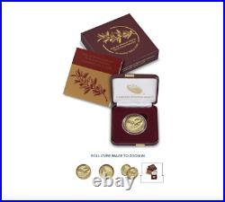 End of World War II 75th Anniversary 24-Karat Gold Coin IN HAND, UNOPENED