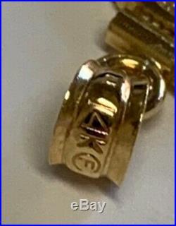Estate 1/10oz American Eagle Gold Coin Pendant 14K Gold 1 Long