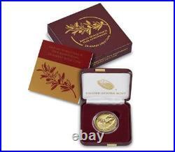 IN-HAND End of World War II 75th Anniversary 24-Karat 1/2oz Gold Coin
