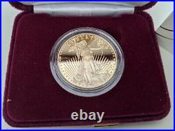 Last Design American Eagle 2021 One Ounce Gold Proof Coin 21EB