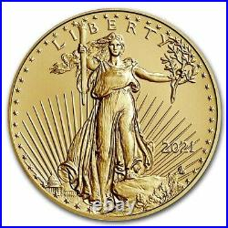 Pre-Sale 2021 1/2 oz Gold Eagle MS-70 PCGS (Type 2) SKU#232547