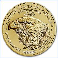 Pre-Sale 2021 1/4 oz American Gold Eagle MS-69 PCGS (FirstStrike, Type 2)