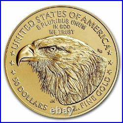 Pre-Sale 2021 1 oz American Gold Eagle MS-70 PCGS (FDI, Type 2)