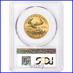 Presale 2020 $25 American Gold Eagle 1/2 oz. PCGS MS70 First Strike Flag Label