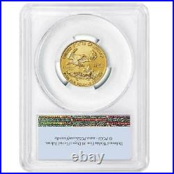 Presale 2021 $10 American Gold Eagle 1/4 oz. PCGS MS69 First Strike Flag Label