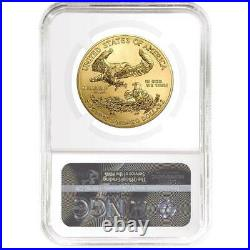 Presale 2021 $50 American Gold Eagle 1 oz. NGC MS70 Brown Label