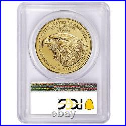 Presale- 2021 $50 Type 2 American Gold Eagle 1 oz. PCGS MS70 FDOI Flag Label