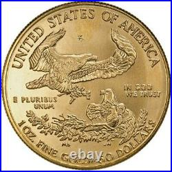 Random Year 1 oz $50 Gold American Eagle Coin Abrasions IN STOCK