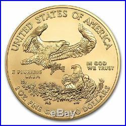Random Year 1 oz Gold American Eagle Coin Brand New BU