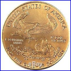 USA 25 Dollar Gold 1996 Goldmünze American Gold Eagle in Münzkapsel JAHR SELTEN