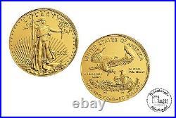 USA 50 $ American Eagle 2021 Gold Anlagemünze 1 Oz Gold ST