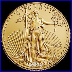 USA 50 Dollar 2020 American Gold Eagle Anlagemünze 1 Oz Gold ST