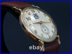 Vintage 1948 Hamilton USA American Eagle 50 Stars Dial Manual Wind Watch Service